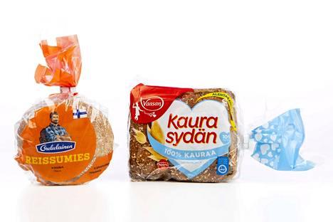 Kauraleipien kaurapitoisuus saattaa vaihdella suurestikin. Oululaisen Reissumiehen viljasta kauraa on 54 prosenttia, Vaasan Kaurasydämen viljasta kauraa on 100 prosenttia.