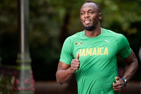 Usain Bolt muisteli sosiaalisessa mediassa Pekingin olympialaisia.