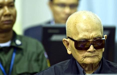 Veli numero kahtena tunnettu punakhmerijohtaja Nuon Chea sai tuomion Kambodzan kansanmurhasta vasta vuonna 2018.