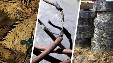 Mikä kuuluu minne? Uusi hakusanapalvelu opastaa, minne kierrätettävät vanhat renkaat, kuuset ja elektroniikka pitää toimittaa.