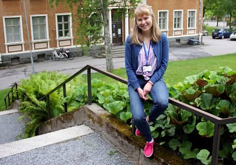 Hilla Martikainen aloitti työnsä Nokian kaupungin ravitsemusterapeuttina toukokuussa 2018.