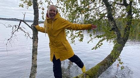Elämän on hyvä olla tasapainossa. Tasapainoilua Satu Kunnari sanoo opettelevansa edelleen.