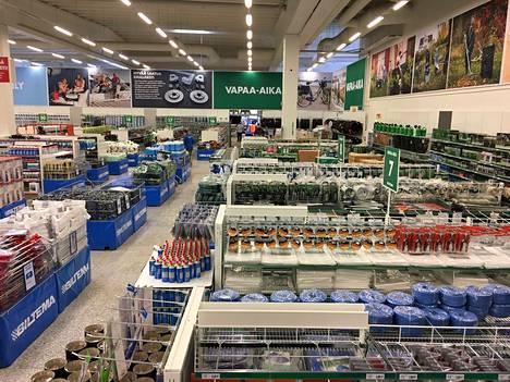 Biltema avaa myymälänsä Poriin tämän hetkisen suunnitelman mukaan alkuvuonna 2022. Arkistokuva on Kempeleen Biltemasta.