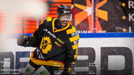 KolumbianMedellinissä syntynyt ruotsalainen Edwin Hedberg pelaa Ässissä tulevalla kaudella. Sopimuksen yksityiskohdista Satakunnan Kansalla ei ole vielä tietoa.