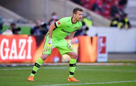 Lukas Hradecky on Bayer Leverkusenin ykkösmaalivahti.
