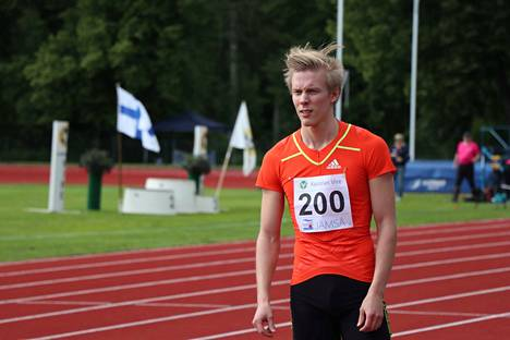 Kristian Pulli oli paras suomalainen Weinheimin pituuskisassa perjantaina. Arkistokuva.