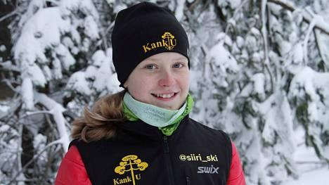 Siiri Laino valittiin Kankaanpään kaupungin Vuoden tyttöurheilijaksi.