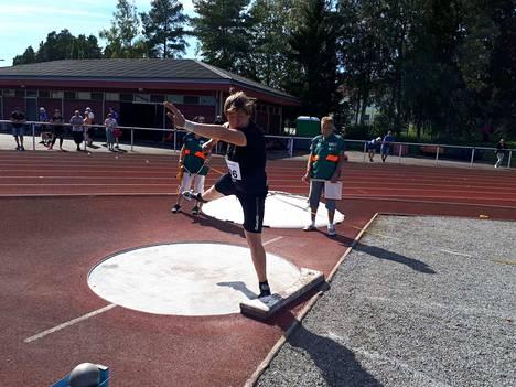 Timanttikisoissa oli yli 400 osallistujaa. Yksi heistä oli VsV:n Miikka Oinonen.