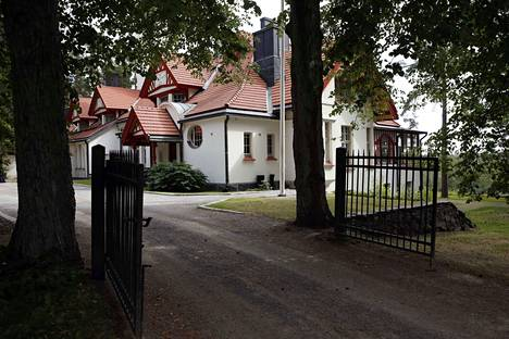 Havulinna valmistui Ahlströmin Noormarkun ruukkialueelle vuonna 1901.