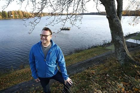 Pekka Virtanen nauttii Kokemäenjoesta. Hän toi osaltaan siihen myös eloa, kun Harjavallassa järjestettiin dragonmelontoja. Idean niihin Virtanen sai Raumalta.