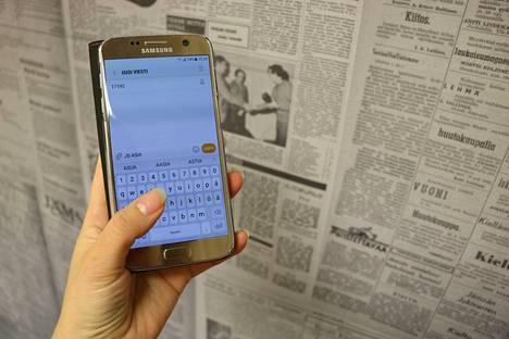 Voit lähettää lyhyen mielipiteen Jämsän Seutuun numeroon 17192, kirjoita alkuun JS ASIA ja sen jälkeen viestisi.