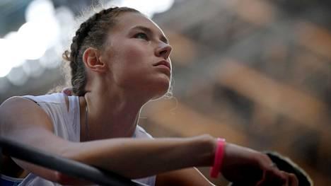 Ella Junnila kilpaili Tokiossa korkeushypyn karsinnassa torstaina.