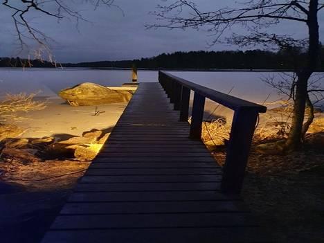Valometsästä on tänä talvena otettu lukemattomia kuvia! Tässä Merja Mäntysen otos.