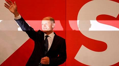 SPD:n Olaf Scholz on toinen kärkiehdokkaista liittokansleri Angela Merkelin seuraajaksi.