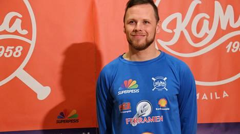 Koko superpesisuran kasvattajaseuraansa Hyvinkään Tahkoa edustanut Lauri Vierimaa pelaa KaMassa kauden 2021.