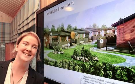 Blomqvist Caren toimitusjohtaja Titta Blomqvist esitteli syksyllä 2012 Luvialle kaavailtuja ekologisia senioriasuntoja, jotka eivät koskeen toteutuneet. Vuoden kuluttua tästä Blomqvist Care teki konkurssin. Muutamia vuosia myöhemmin perässä seurasi palvelutalohankkeen rakennuttajana ollut Palvelusatama Östergård, johon nyt luettu vakavin uusi syyte liittyy.
