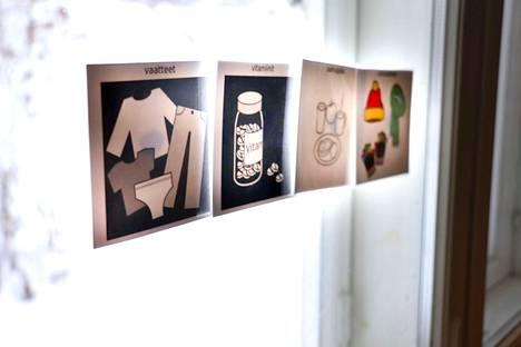 Nepsy-perheiden arkea voivat olla esimerkiksi erilaiset toimintaa ohjaavat kortit.
