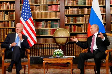 Bidenin ja Putinin tapaamiselle ei ole asetettu suuria odotuksia, sillä maiden suhteet ovat hyvin kireät.