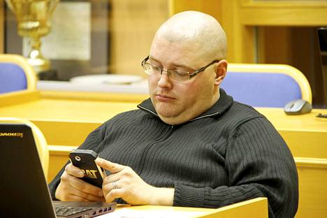 Erno Haavisto edustaa perussuomalaisia Honkajoen kunnanvaltuustossa.
