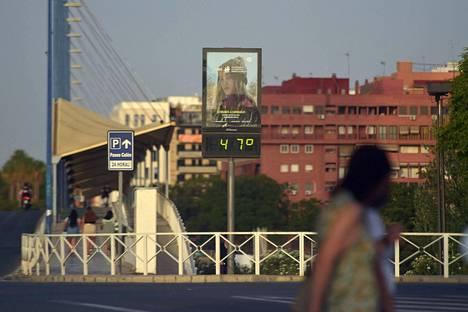 Heinäkuu oli mittaushistorian kuumin kuukausi maapallolla, arvioi Yhdysvaltain liittovaltion sää- ja valtamerentutkimusorganisaatio NOAA.