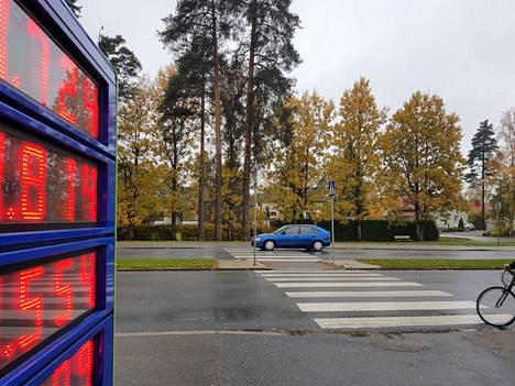 Jos vanhoja lehtipuita häviääkin Sääksmäentie 26:n puistikosta, myös uusia istutuksia on luvassa. Tulevaisuudessa siinä kasvaa havupuiden lisäksi kukkivia pensaita.