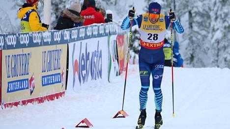 Ristomatti Hakola on mukana Salpausselän kisoissa.