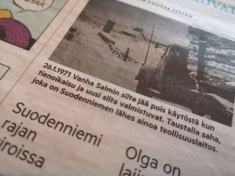 Aamulehti kirjoitti 26.1. 50 vuoden takaisesta uutisesta.