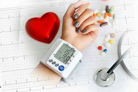 Korkea verenpaine ei aiheuta mitään oireita.