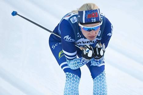 Anne Kyllönen oli eränsä toinen.