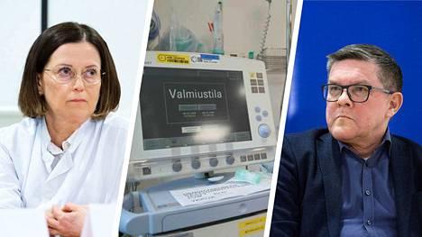 Tampereen yliopistollisen sairaalan Jaana Syrjänen ja Juhani Sand kertovat, että Pirkanmaalla on ehditty valmistautua koronavirustilanteeseen hyvin.