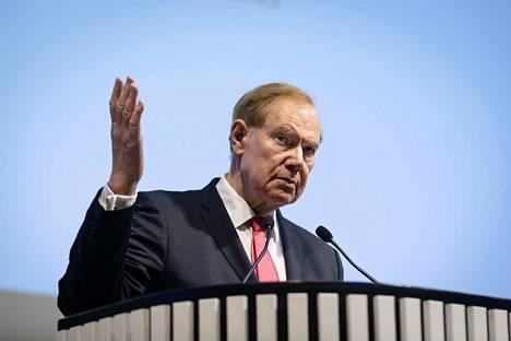 Paavo Lipponen (sd.) toimi pääministerinä Suomen ensimmäisellä EU-puheenjohtajakaudella vuonna 1999. Keskiviikkona hän avasi Tampereen huippukokous 20 vuotta -juhlasymposiumin Tampereen yliopistossa.
