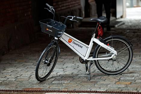 Tällainen on Tampereen kesällä käyttöön otettava kaupunkipyörä.