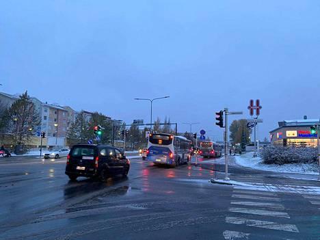 Tampereella tuli lunta 21. lokakuuta 2020. Marraskuun alussa talvisäätä ei näillä näkymin ole luvassa.