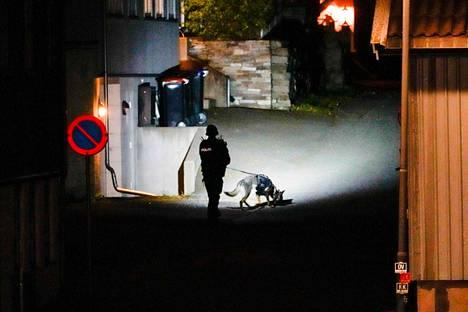 Poliisilla oli paikalla keskiviikkona iso operaatio.