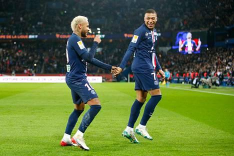 Neymarin ja Kylian Mbappen tähdittämä PSG jää tilastoihin koronakauden mestarina.