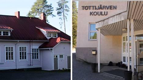 Tottijärven ja Vahalahden kouluissa on käytössä sijaisjärjestelmä, jossa on mukana myös kyläläisiä.