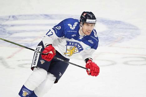 Kapteeni Marko Anttila näki Suomen pelissä hyvääkin.