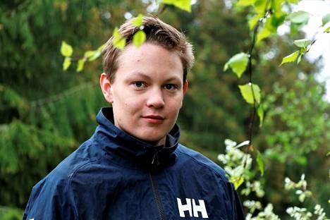 Oskari Pere toimi nuorten vaikuttajaryhmän puheenjohtajana viime kaudella.