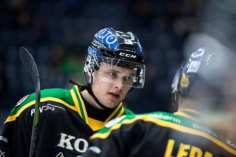 Joona Koppanen pelasi Ilveksessä ennen kuin lähti Pohjois-Amerikkaan.