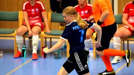 Tilda Pyykkönen teki FC Nokian ainoan maalin Porissa. Kotijoukkue MuSa otti selvän voiton Futsal-liigan ottelussa.