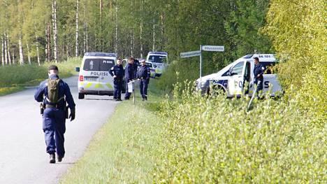 Toukokuussa Kankaanpäässä tapahtunutta verityötä tutkitaan murhana.