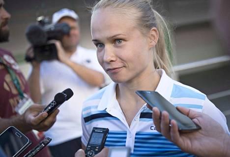 Petra Olli lopettaa uransa. Kuva Rio de Janeiron olympialaisista.
