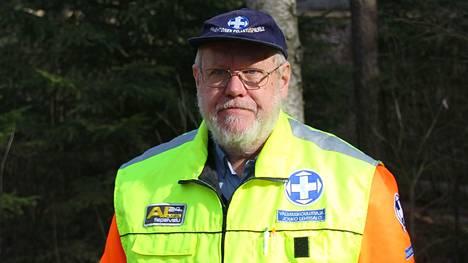 Nokialainen Jouko Lehtisalo valittiin vuoden pelastajaksi Hämeessä. Vapepa jakoi alueellisia pelastajatunnuksia kaikkiaan viidellä alueella. Kuva vuodelta 2014.