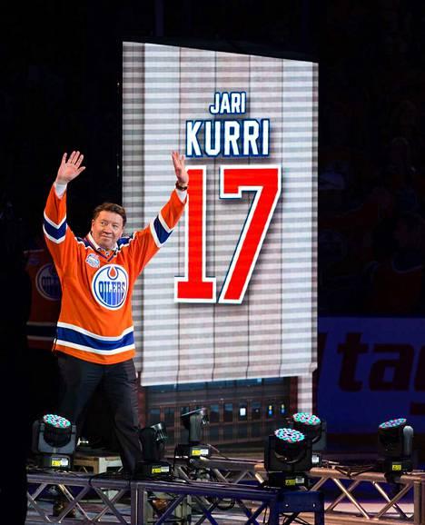 Jari Kurri on edelleen suosittu henkilö Edmontonissa.