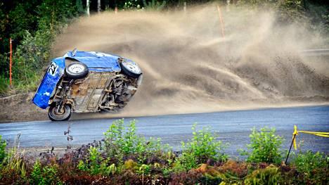 Sunnuntaina Eurajoen Koivuniemen JM-radalla kisattiin jälleen jokkisajoissa.