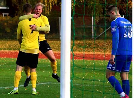 NoPS sai nautiskella Pekka Äijälän tasoitusmaalista ja Tuomas Lehden nappisyötöstä vain kaksi minuuttia. Sitten Kontu meni uudestaan johtoon ja cup-finaaliin.
