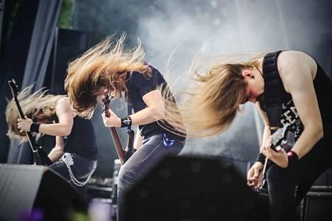 Insomnium pistit tukat heilumaan vuonna 2014.