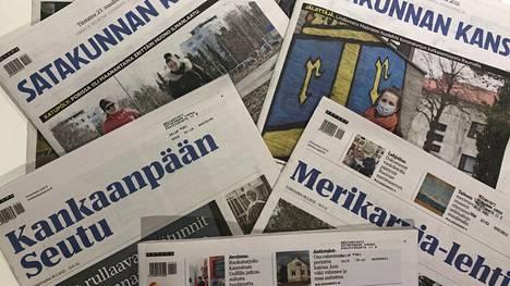 Yt-neuvottelut koskivat Satakunnassa Satakunnan Kansaa, Kankaanpään Seutua, Merikarvia-lehteä ja Sydän-Satakuntaa.
