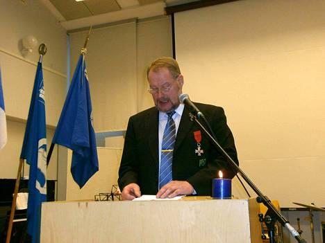 Kunnanhallituksen puheenjohtaja Juhani Kotiranta siirtäisi mielellään Merikarvian rajaa nykyistä etelämmäksi.