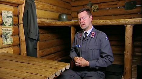 """Myös """"Suomen historian myytit: Talvisota"""" on osa TV1:n teemapäivää.Yksi uusinnan asiantuntijoista on everstiluutnantti Juha Mälkki."""